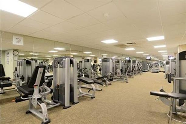 The Bay Club Condos Gym