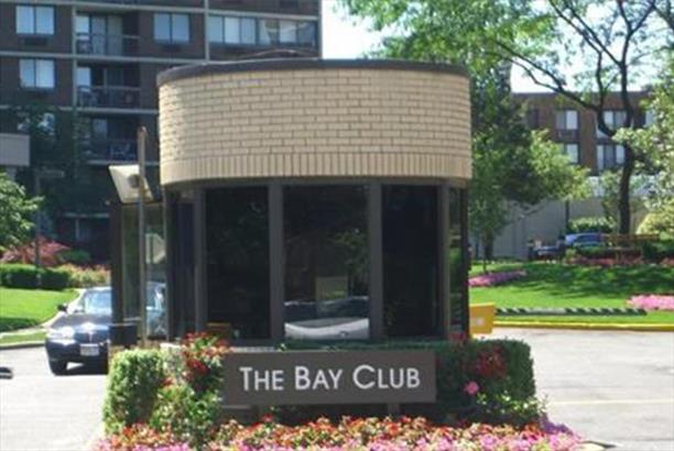 The Bay Club Condos Entry Booth