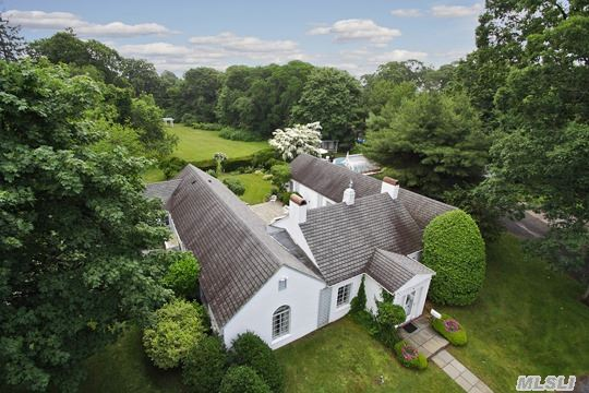 Amazing Classic Home With Two Wings Surrounded By English Garden Courtyard. Gorgeous Private Property, Large Formal Living Room W/Fp, Large Formal Dining Room, Large Bedrooms W/En-Suite Baths. Private Free Form Gunite Pool W/Pool House. A Chance For You To Own One Of The Great Homes Of The South Shore!