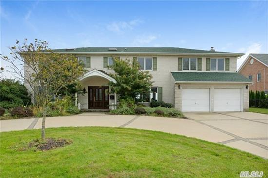 Beautiful Waterfront Home On .52 Acres With Incredible Views Of Great So Bay & Captree Bridge From Almost Every Room. 2 Mstr Brms, Large Eik With New Granite Counter Tops, New Appliances, Gas Cooking, New Mstr Bth, New Roof, New Bulk Heading, New Cement Seawall, Circular Drway, 2nd Fl Lndry Rm & Emerg Gas Generator That Powers Entire Home. Best Of All No Water From Sandy.
