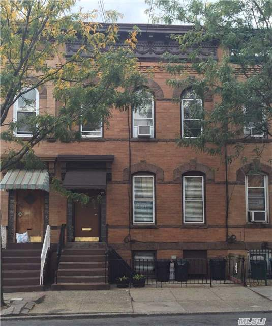 Brick 3 Family In The Heart Of Ridgewood Located Just A Few Blocks From The Subway. 2 Apts. Will Be Vacant On Title. Excellent Condition.