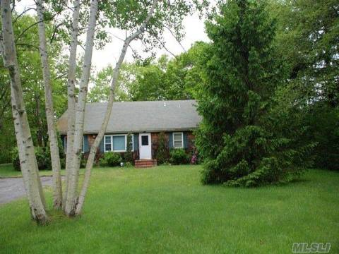 Come Take A Look. Waterfront For Under 300K. Custom Built Merritts Pondfront Ranch Offers Great Rm/Snack Bar & Fieldstone Fplc. 4-5 Brs, Master Br/Fplc. Eik/Center Island, Lg Family Rm, Laundry Rm. Full Finished Basement/3 Ose. Hw Floors On Mid Level Of This Split Level Home. Garage Could Be Put Back Where Family Rm Is. New Oil Burner And Hot Water Heater. Mother/Daughter.