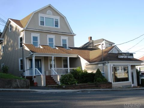 This Is An Unique And One Of A Kind Incoming Producing Building Located In Very Busy Port Jefferson Village. This Property Features An Beautiful Interior And An Outstanding Harbour View. This Building Is 100% Leased.