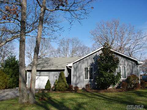 Creekfront! Ranch Home With Fabulous Views From The Kitchen, Dining Area & Living Room. 3 Bedrooms, 2 Baths. Full Basement & Attached 2 Car Garage.