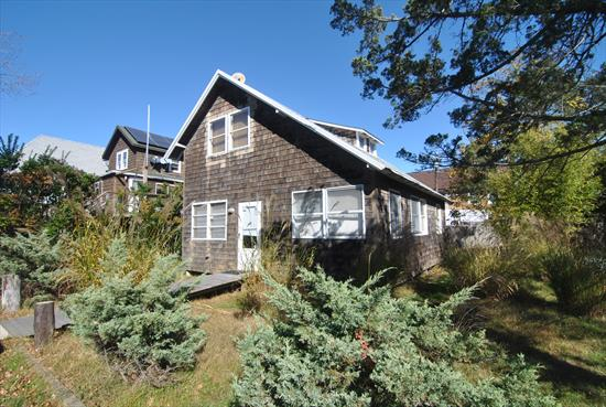 Charming Fire Island home in the heart of Ocean Beach. Fireplace. Outside shower.