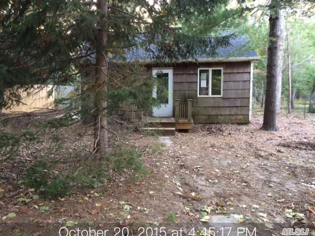 This Home Is Blank Canvas Waiting For Its Rembrandt Located Close To Local Beach's And Boating, New Roof Large Mature Trees Part Basement With Ose