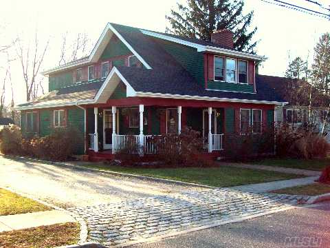 Charming & Delightful Village Colonial. New Hdwd Flrs, Freshly Painted, New Cesspool Radiant Heat, New Oil Tank & Roof. Lovely Fenced In Yard, Spacious Rooms, Cozy Granny Porch. This Is Truly A Move In Ready Home Just Steps To The Village  With So Much To Offer. Taxes With Star $9480.65