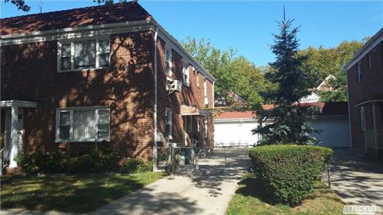 Prime Fresh Meadow Area, One Block To Cunningham Park, Solid Brick Legal 2 Family Building W 22'X42' On Each Floor, Full Finished Basement W/8Ft Ceiling, Large Det 2 Car Garage. Rare Find. Near Shopping, Transportation, X-Bus To Manhattan. Q75 To Flushing, Q46 To Subway, Best School #26 (Ps 26 & Jhs 216) One Day Advance Notice Needed.