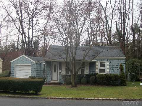 Well Maintained 3 Bedroom, 1 Bath Ranch In South Huntington School District.  Updated Roof, Windows, Burner.