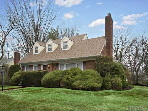 Elegant Wide Line Cape, With Formal Dining Room, Living Room W/Fireplace, Cac First Floor,Immaculate Inside And Out, Estates Section/West. Taxes May Be Reduced With Star Program $827