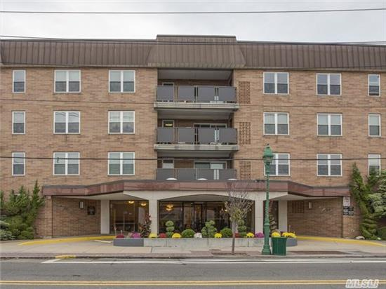 Luxury 24 Hr Doorman Building, Indoor Prkg. Sunfilled 2 Br + 2 Full Bth, Master Bath 1 Year Old Closets Galore, Terrace Overlooking Courtyard, Large Rooms, Eik, Pool And Patio Area That Is Beautifully Maintained, Laundry Room On Every Floor And Personal Storage Area, Walk To All!!