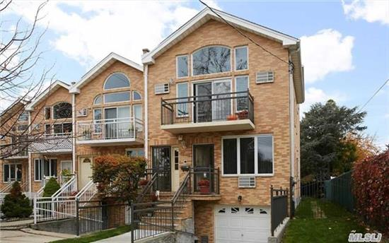 Beautiful All Modern 2 Fam, 1st Fl-Eik, Lr, Dr, 2 Bedrooms, Full Bath. Private Entrance For Owners Apartment. Laundry Room On 1st Floor Stair Leading To 2nd And 3rd Floor Duplex . 2nd Floor Eik, Lr, Dr, 2 Bdrms, Full Bath + Loft King Size Master Suite (20' X 20) With Its Own Master Bathroom Consisting Of Jacuzzi Bath And Seperate. Walk In Closet.