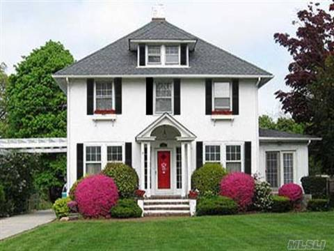 Location, Location! Beautiful 9 Room Colonial On Deep Property W/Many Amenities & Updates. Igp, Rear Deck, Hot Tub & Outside Shower.A Must See.