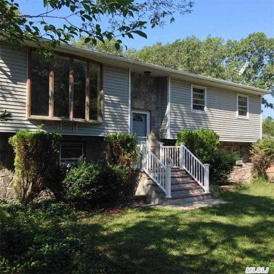 Renovated Home! 1 Acre Including, New Front Porch, Gutters, New Kitchen/Granite W/Stainless Appliances, Complete New Bathroom, Windows, Doors, Lighting Fixtures, Garage Door & Interior Paint. Will Work W/Right Buyer - Priced Right Go & See!!