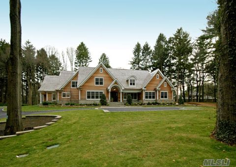 Extraordinary Presentation Of Craftsmanship, Finely Honed Accents And Perfection In This Sprawling 2008 Hampton Style Cedar Colonial.Approx  7200 Sq.Ft.  Located On Cul-De-Sac. Sun-Drenched, Expansive With Gleaming Oak Flrs, Custom Moldings, Tray Ceilings & Cabinetry Thru-Out. The Charm & Appeal Is Befitting Of The Most Discerning Of Buyers. Wired For Smart Tech.