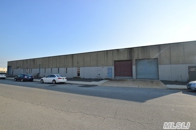 Industrial Building / Warehouse. Large Open Area Of 46, 000 Sqft With 17.5 Foot Clear Ceiling Height! Has Interior Office Space. 4 Loading Docks, 3 Large Drive In Overhead Doors. Sprinklered! Large Private Parking Lot For At Least 40+ Cars! 1200 Amps Of Power!! On A Wide Street Great For Tractor Trailer Access. Tons Of Street Parking. Only A Few Blocks From Lirr.