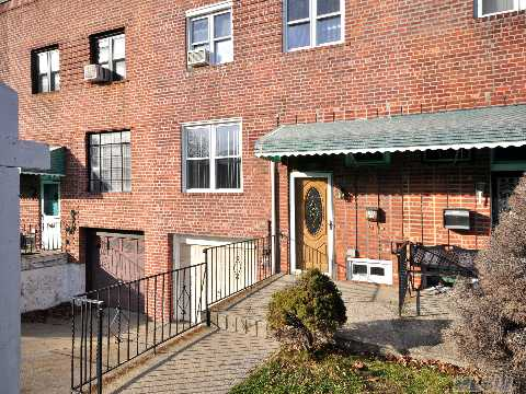 Brick Attached Home In Fresh Meadows.Very Clean&Well Mainteined.Private Driveway With 1 Car Garage. Quite Block.Exit From Dining Room To Back Yard. Hardwood Floors,2 Fujitsu Units, Updated Windows,Washer&Dryer Under Warranty! Must See! Wan't Last!! Owner Relocating!