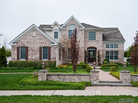 Brick Col Whitney Model In Gated Private Community.Grand 2 Story Ef, Frml Lr, Frml Dr,Lib/Office, Grt Rm W/Fplc & Center Isle Eik. Oversized Mstr Suite, 4 Large Br & 2 Bths. Prof Landscaped By Steven Dubner.  Community Offers Pool, Tennis, Playground, Clubhouse W/Restaurant & Optional Golf Course Membership. Hhh Schools.Hoa $314 Clubhouse Fee $335