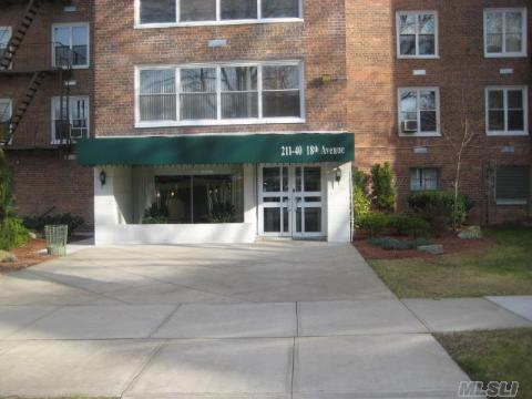 Fully Renovated Sponsor Owned Unit With Brand New Renovations Throughout,Walk To Bay Terrace Shops,Schools,Buses. No Board Approval Needed. Sponsor Says Sell Now!!! 2nd Spot Included!!