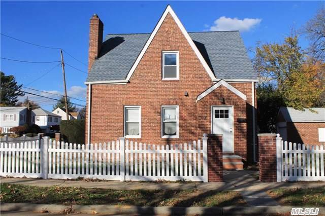 Fully Renovated Brick Home In Desirable Uniondale. Hardwood Flooring, All New Appliances, New Boiler, And New Roof. New Pvc Fence, Private Driveway And Detached Brick Garage. Quiet Block With Great Neighbors.