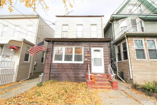 A Great Starter Home Perfect For Growing Family With A Large Living Room, Formal Dining Room, And Beautifully Updated Kitchen With Wood Cabinets And Stainless Steel Appliances On The First Floor. The Second Floor Features Three Bedrooms And A Full Bath And The Finished Basement Has A Large Recreation Area With A Bath And Laundry Room. A Private Driveway And Backyard Incl.