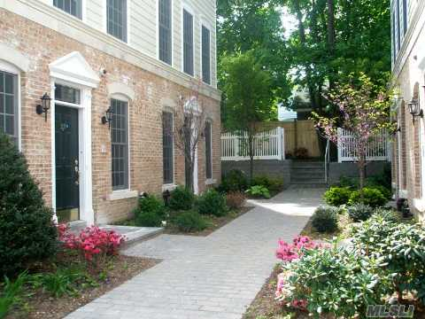 Victorian Mews In Historic Oyster Bay.  A Private Community Of Elegantly Appointed Homes.  Beautiful Kitchen And Baths, Large Closets, Heated Garage, Elevator.