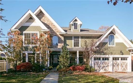 Stunning 2009 Custom Built Colonial Is Convenient To All, Offering 4, 500 Sq. Ft. Of Fine Craftsmanship Throughout. This Colonial Offers Living Rm W/Fpl, Dining Rm, Fam Rm/W Fpl, Gourmet Eik, 6-Bedrooms, 3-Baths, Hw Floors, Cac, Radiant Heat W/ State Of The Art Heat System. In Ground Salt Water Pool Surrounded By Well Manicured Grounds A Must See!!