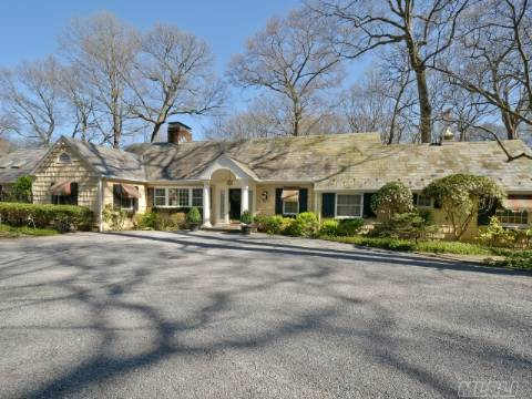An Architectural Masterpiece That Offers All The Charm And Luxury Old Brookville Has To Offer. The Master Br Suite With French Doors, Vaulted Ceiling, Fireplace And A 1350 Sq Ft Master Bath That Is Second To None. New Prof Appliances, Slate Roof, Ig Heated Pool, Cabana And A 3 Stall Barn Sitting On 2.22 Picturesque Acres. Property Like This Is What Inspires Movie Writers.