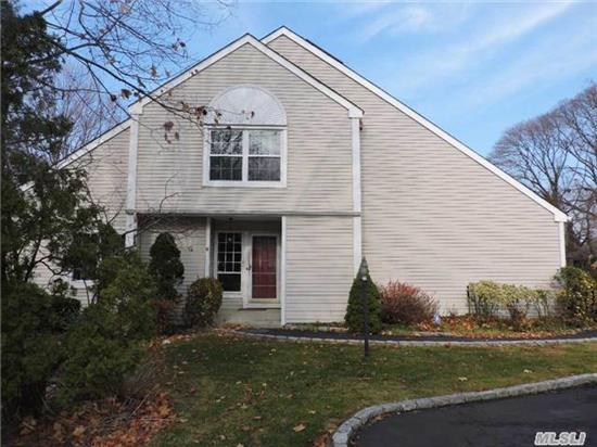 Beautiful End Unit In The Village ! New Heating/Cac & H/W/H-Month Utilities/$200 On Budget, Wood Floors 2 Huge Bedrooms Possibly 3,  2-1/2 Bath, Eik, Lr/Dr Combo, Huge Walk In Closets, New Doors, New Windows, New Carpet, Freshly Painted, Cac, Pets Allowed, 1 Car Garage, Offers Privacy With Deck, Close To Shops/Transportation. Clean, Move In Ready !