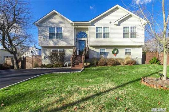 Lovely 4 Bedroom, 3 Full Bath Home Set On Beautiful Corner Property. Deck Leads Down To Spacious 40X40 Patio, Semi-Inground Pool, Fire Pit. Beach And Marina A Block Away. Too Much To List Here...Move In Ready. Definitely A Must See!