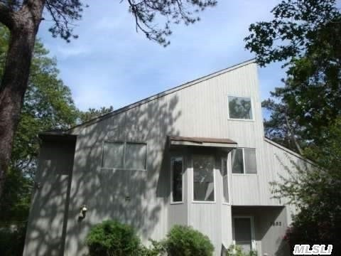 Great Value.  Much Potential For Investor. Spacious Contemporary On A Full Wooded Acre. 1st Floor Master Suite Plus,  1/2 Bath, Washer & Dryer,  Living Room With Fireplace & High Ceilings,  Sunroom,  Heated Pool. 2nd Floor W/3 Bedrooms & 2 Full Baths,  1 Bedroom En Suite. Finished Basement With 1/2 Bath & Kitchenette.