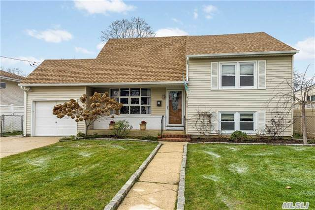 Beautiful 3Br 2 Bath Split Level Home In Wantagh Schools. Everything In This House From Top To Bottom Has Been Replaced Within The Last Couple Of Years. Close To All Transportation, Highways, Shopping And Beaches.