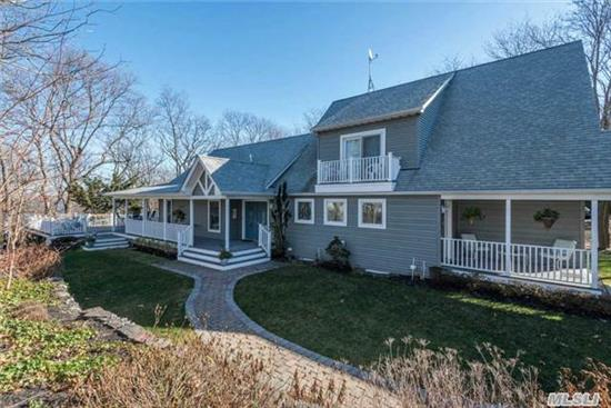Enjoy Majestic Waterviews From This Young Home W/Open Floor Plan. Entertainer's Delight Both Inside & Out! Gourmet Kitchen W/ Top Of The Line Appl & Granite Counters, Lr W/Stone Fp, Lg Dining Rm & 3 Seasons Rm. Full Finished Bsmt W/Egress Wind. & Waterviews. Shy 3/4 Acre Prop W/ Trex Deck, Slate Patio, Front Porch & Koi Pond W/Waterfall. Custom Home W/Attention To Detail!