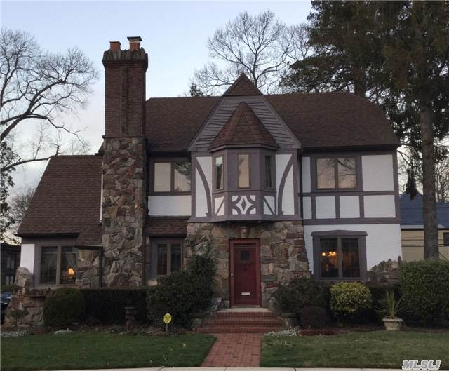 Charming Stone And Stucco Tudor In The Heart Of The Strathmore Area. Lr W/ Tray Ceiling, Family Rm W/ Skylt And Sliders To Lg. Deck And Private Yard. Master W/ Dressing Rm & 3 Closets. Great Potential For 2 Additional Bedrooms In Walk-Up Attic. Full Fin Basement. Central Air On 2nd Flr Only. 7 Yr Old Boiler, Updated Windows, Alarm - Ready To Go. Great Value!