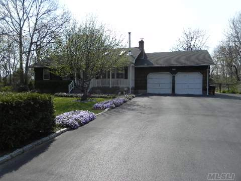 Well Maintained Country Charm Ranch. Relax On Your Back Deck Soaking Up The Sun Or For Those Cold Winter Nights Cozy Up To Your Wood Burning Stove.This Three Bedroom Two Bath Home Is Nestled On Over A 1/2 Acre Fully Fenced Property With A Full Basement,Laundry On 1st Floor,And A Two Car Attached Garage.Taxes With Star Are $8,206.20.Great Potential.Ready To Sell, Call Now!