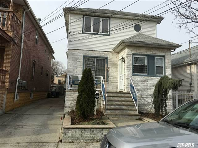 Beautiful 2 Family House In Centerville/Ozone Park 5 Over 6 Finish Basement Private Driveway Huge Backyard Central A/C 2 Boiler 2 Hot Water Tank, Hard Wood Floors, In Excellent Condition Located In A Dead End Street. Walking Distance To Transportation, 10 Min. From Jfk Airport, Steps Away From Resorts World Casino Nyc.