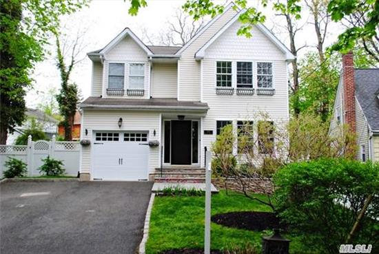 This Beautifully Updated & Maintained Colonial Offers A Wonderful Flow For Easy Entertaining Inside & New Paver Patio For Outside Enjoyment. A Finished Basement W/Carpeted Office & Playroom Are Perfect For A Growing Family. Sparkling Hardwood Flrs Are Thru-Out. Spacious Second Flr Landing Leads To 4 Generous-Sized Bedrooms. This Home Is Not In Flood Zone. Locust Valley Sd.