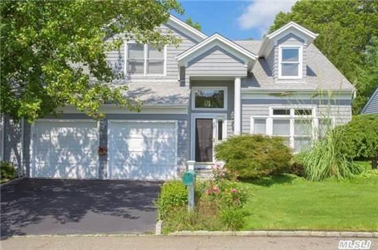 Stunning Home W/Open Flr Plan, Vaulted Ceilings, Gleaming Hw Floors, Light & Bright W/Granite Custom Eik Opens To Family Rm W/Travertine Stone Wall, Gas Fplc, . Mstr Ste On 1st Floor W/Jacuzzi & Sep Shower, Part Finished Bsmt W/Summer Kit. Hoa.