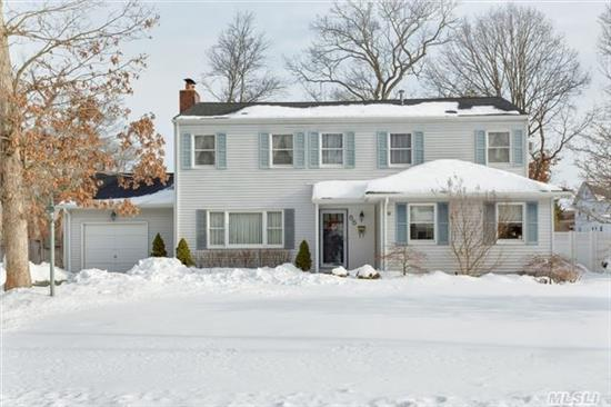 Sun Filled 3, 000+ Sq Ft Colonial In Lawrence Farms. Home Was Renovated In 1987 To Include 4 Brs, A Great Rm / Den Overlooking Private Backyard. 2 Water Heaters, 2 Sep Heating Units, 10 Skylights, Eik W/ Breakfast Room.