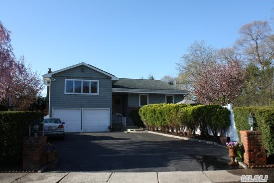 Beautiful California Ranch With 2 Car Garage W/ Lg Driveway, Att. Space For Rv, Cul-De-Sac, New Siding, Roof W/Solar Panels, Fenced In Private Yard W/New Outdoor Patio W/Fire Pit, Igs, New Deck. 4Brs, 3 Baths, Large Updated Kitchen, New Ge Profile Ss Appliances, Granite Counter Tops, Large Finished Lower Level, Room For Extended Family. Walking Distance To Town, Rr, Shopping