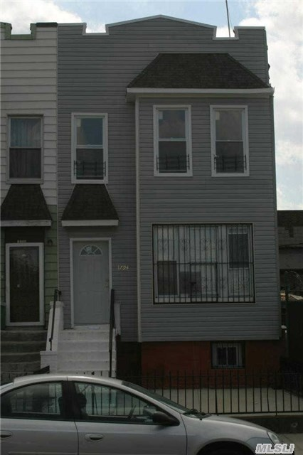 2 Family House, 3 Story. Close To A & C Train. House Need Tlc Sold As Is. Good Working Boiler, New Hot Water Tank, New Water Meter, New Electrician Box, Separate Electrician Meter. Good Condition Windows And Frame.