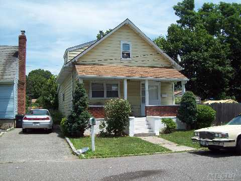 Great Opportunity To Live In East Northport.  Low Taxes House Being Sold As Is.Taxes Do Not Reflect Star Of 845.00
