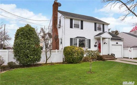 Charming Side Hall Terrace Colonial - Living Room/Fireplace - Formal Dining Room - Big Kitchen - Huge Family Room - 2 Full Bths - 4 Large Bedrooms- Finished Basement - Beautiful Landscaping