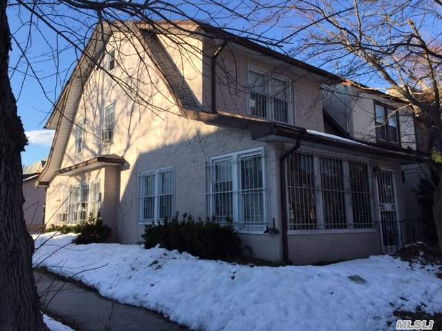 Buy, Renovate, And Make This Your Next Home. This Detached Stucco Colonial Is Located On A Corner Lot W/ Detached Garage This Property Is Being Offered As Is Condition .. Only Written Offers Accompanied With Proof Of Funds And Preapproval Will Be Considered And Collected By 2/21/2016 At Open House Or Via Email Helen.Tzelios@Elliman.Com Submit Best And Highest