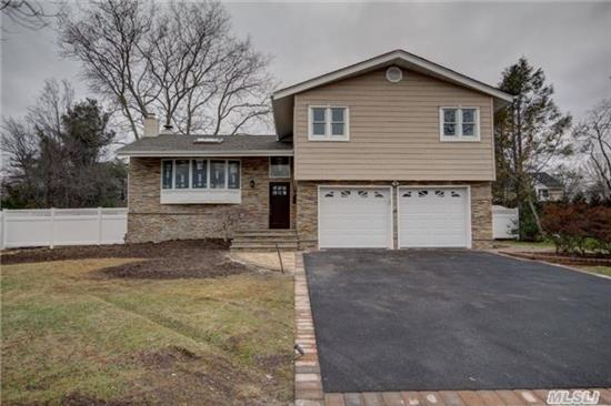 Diamond Condition Totally Renovated Split Level In Birchwood Section Of Jericho With Award Winning School District! Beautifully Appointed Granite Kitchen With Stainless Steel Appliances. Bathrooms Updated With Onyx Tile And Granite. Hardwood Floors Throughout. Great Living Space And Fantastic Location!