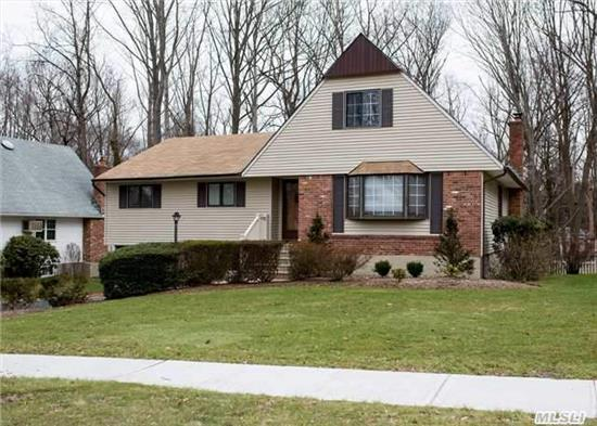 Immaculate Farm Ranch, 3 Bedrooms, 2 Full Baths, Updated Eik W/Granite Counter Tops, Updated Bathrooms, Gleaming Hardwood Floors, Family Room W/Fireplace, Huge Expandable Walk Up Attic, Full Basement, Cac, Igs, Backyard Borders Protected Woodland.
