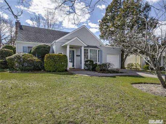 Beautiful Corner Property, Expanded Ranch, 4 Generously Sized Br's, 2 Updated Full Baths, Open Flow Updated Eik, Flr/Fdr, Hardwood Floors, Cac, Igs, Alarm, Full Finished Basement With O/S Sd # 14, Updated Roof, Manicured Property, Tax Grievance Filed For The 1st Time In 25 Yrs