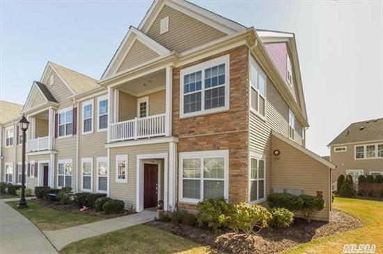 Sale May Be Subject To Term & Conditions Of An Offering Plan. Gorgeous End Unit, 2 Bedrooms, 2 Full Baths, Condo Featuring A Full Loft, Overlooking Living Room. High Ceilings, Granite Countertops, Stainless Steel Appliances, Plenty Of Closet Space. Close To Pool, Clubhouse , Playground. Taxes With Star $ 8, 085