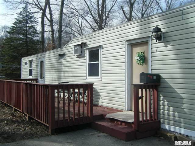 Affordable Living! Enjoy Your Retirement In Sr.Complex Of Ramlewood. This Sunny Unit Has An Updated Kitchen W/Newer Cabinets, New Windows, Siding, Heating & Carpets. There Was A Second Bedroom That Was Converted To A Laundry Room W/Extra Closet. Just Move Right In. There Is A Deck For Entertaining & 2 Sheds. Fees Include, Water, Snow, Leaf & Trash Removal.