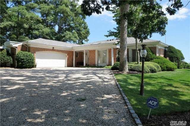 Beautiful Waterfront Custom Brick Ranch With 104 Ft. Of Bay Frontage.  Lr,  Dr,  Kitchen,  Master Br All Have Amazing Bay Views.  Waterfront Patio,  New Oil Burner And Tank,  New Bulkheading.